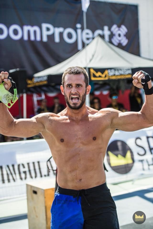 Jorge García, subcampeón de la Spanish Throwdown 2018