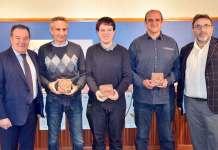 El promotor del Centro de Ocio Infantil y Familiar Via Verde de Arnedo recoge su premio