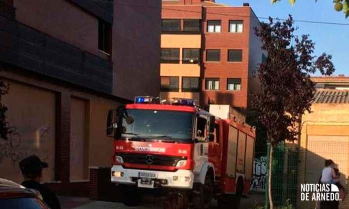 Intervención de Bomberos del CEIS en Calle Delicias de Arnedo