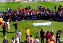Foto de familia de participantes en el XXV Torneo Internacional 'Arnedo Ciudad del Calzado' 2019
