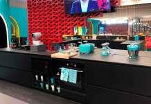 La cocina del programa 'Gran Hermano VIP' fabricada por la empresa Muebles Veri de Arnedo (La Rioja)