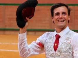 El ganador del Zapato de Oro 2019, Francisco Montero, en el Arnedo Arena
