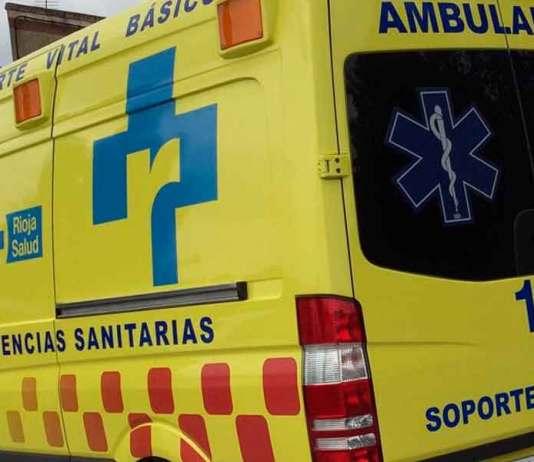 Ambulancia de Soporte Vital Básico de Ferrovial para el Servicio Riojano de Salud con base en Arnedo