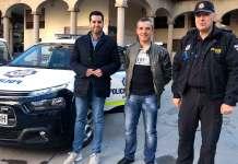 Presentación del nuevo vehículo de la Policía Local de Arnedo