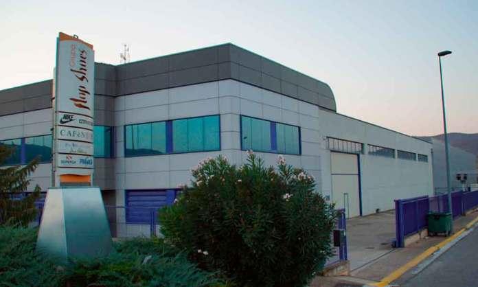Instalaciones de la empresa Flop Shoes, en Arnedo