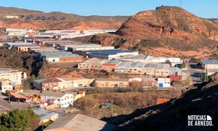 Una de las zonas industriales de Arnedo