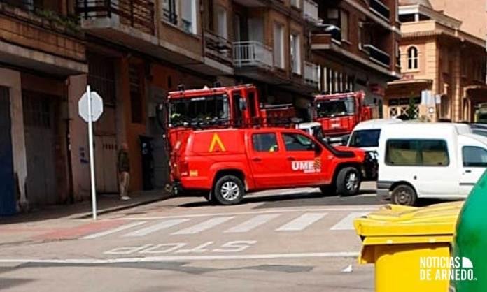 Unidad Militar de Emergencias (UME) en Arnedo