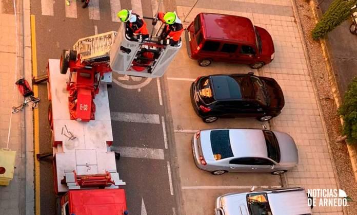 Intervención de Bomberos del CEIS Rioja (A.Y.)