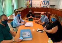 Reunión en el Ayuntamiento de Arnedo del 11 de septiembre de 2020