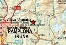 Zona navarra del terremoto del 1 de octubre de 2020 y sentido en Arnedo