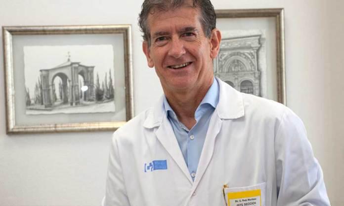 Dr. Carlos Ruiz, Jefe de Sección de Neumología en el Hospital San Pedro de Logroño   Riojasalud