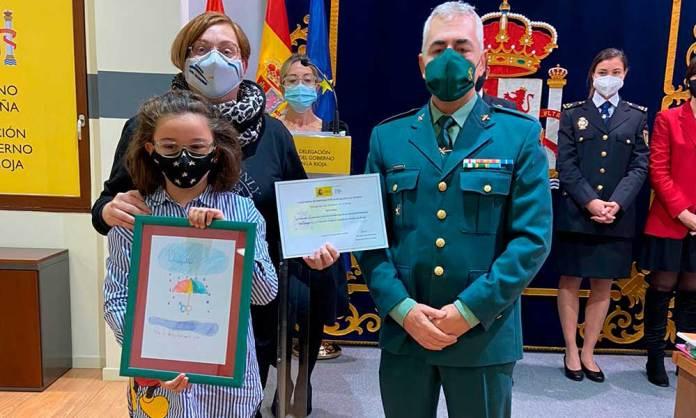 Lucía González García, del CEIP Antonio Delgado Calvete de Arnedo