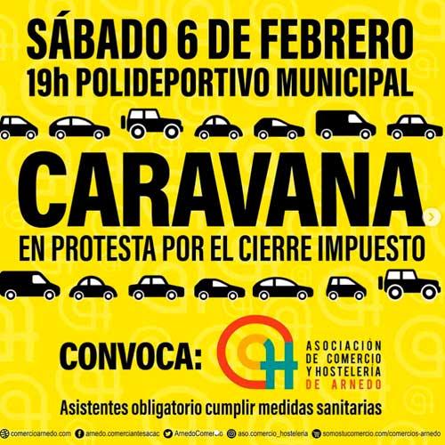 Convocatoria Caravana Arnedo 6 de febrero 2021