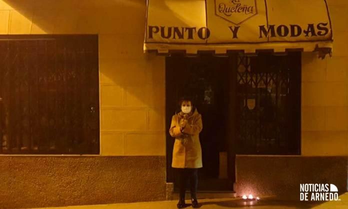 """Uno de los comercios """"plantados"""" en Arnedo"""