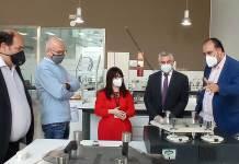 Visita del Gobierno de La Rioja al CTCR - AICCOR