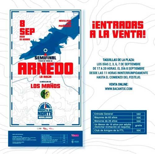 Publicidad: Ya a la venta entradas Circuito Norte Arnedo