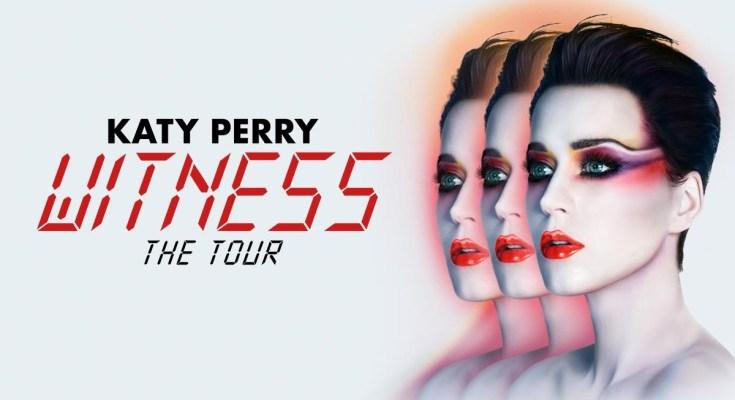 Afiche del tour Witness