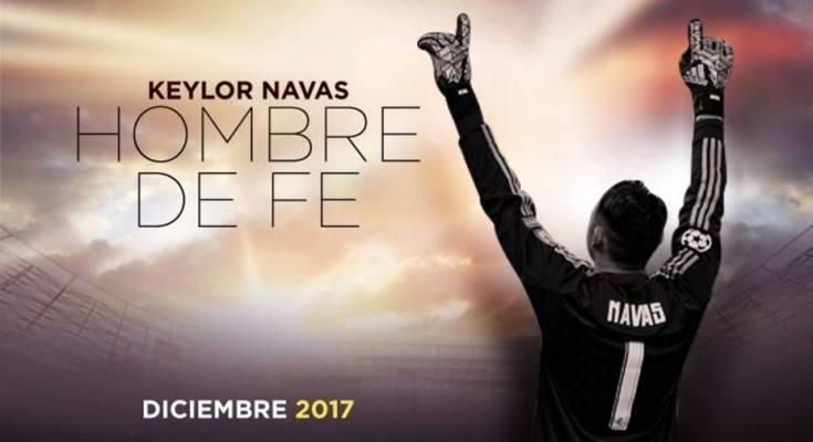 Mañana se estrena la película del portero Keylor Navas