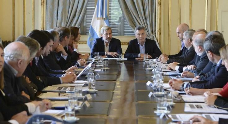 Macri y su gente
