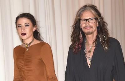 Steven Tyler y su novia