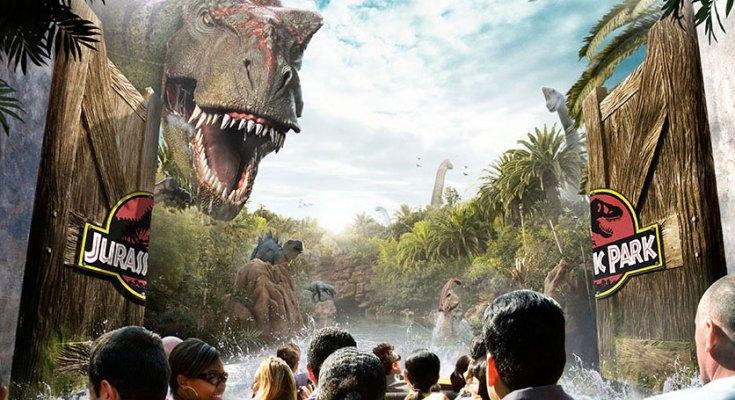 Jurassic World Ride