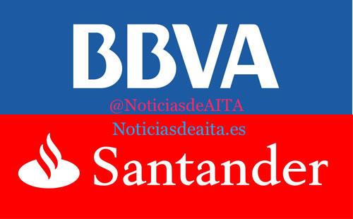 BBVA-SANTANDER 2 logos