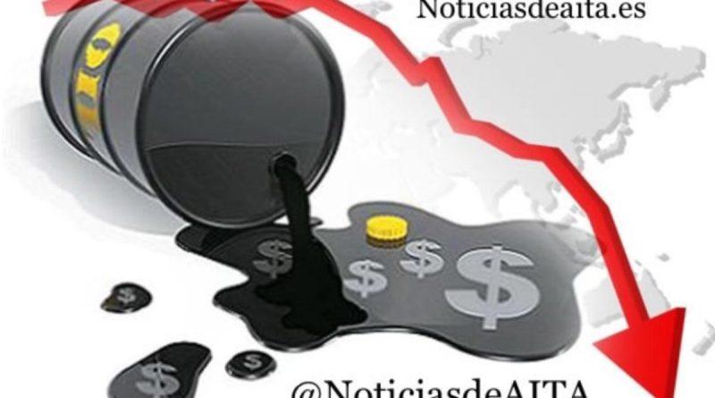El precio del petróleo intermedio de Texas (WTI) se desplomó hoy un 5,03%