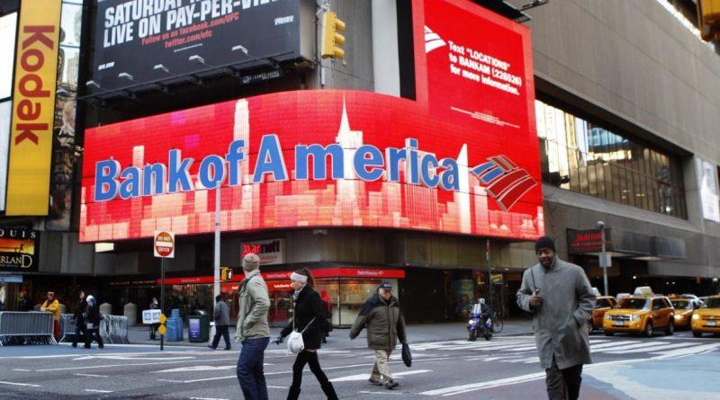 Bank of America gana un 24% menos que hace un año
