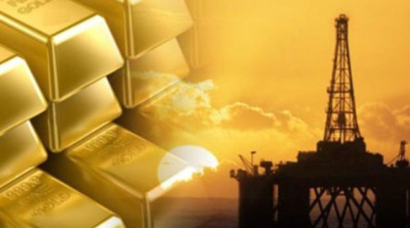 petróleo Brent, West Texas y Oro