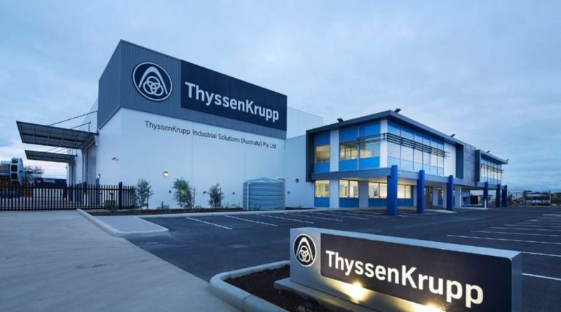 ThyssenKrupp gana 8 millones, un 96 % menos