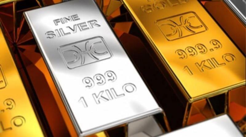 Bajan los futuros de oro y plata