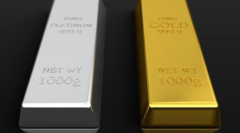 Oro y plata dos metales preciosos con una historia paralela