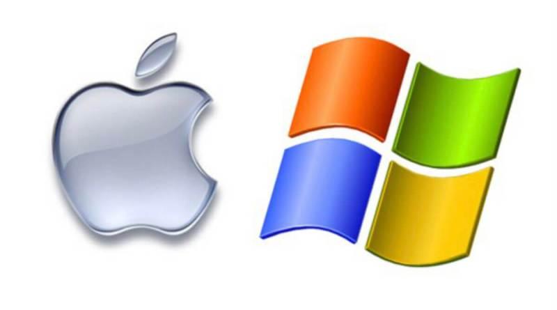 Apple y Microsoft pugnan por ser la compañía más valiosa