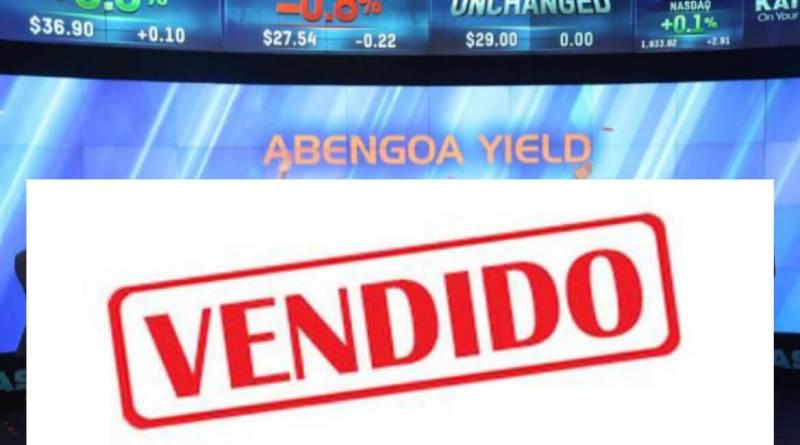 Abengoa cierra el martes la venta del 16,47% de Atlantica