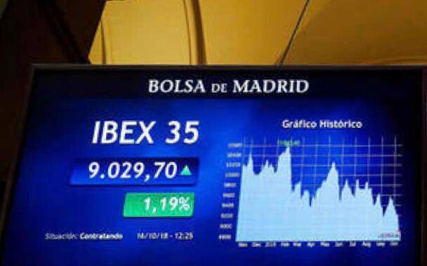 Solo seis valores del Ibex 35 cierran en positivo