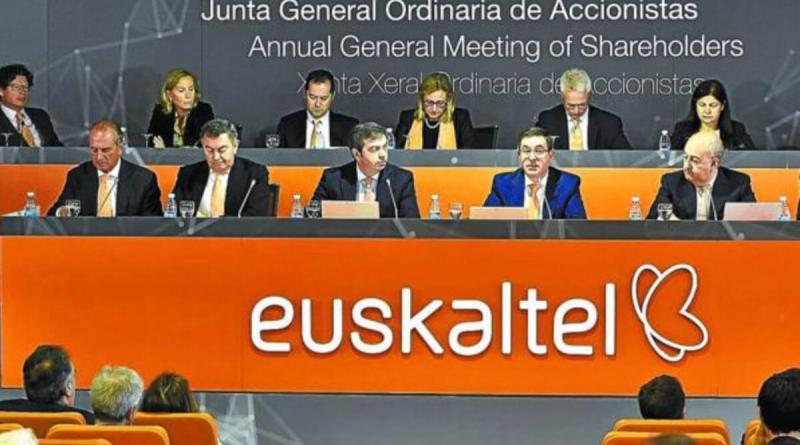 Euskaltel ganó un 60% más en el primer trimestre