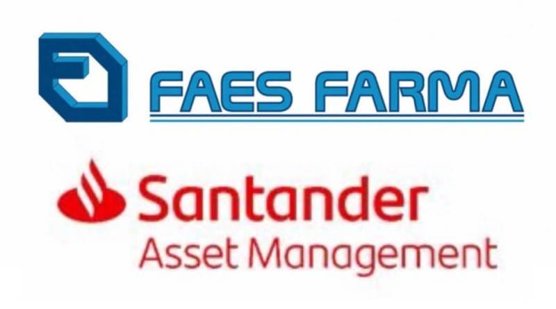 Santander AM compró el 3% de las acciones de Faes Farma