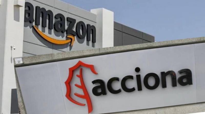Acciona logra un contrato con Amazon por 1.000 millones de dólares