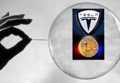 ¿Son Tesla y el bitcoin burbujas del mercado?