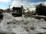 La nieve se deja ver en gran parte de la comarca 2