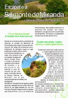 El Occidente en FITUR: Nuevo folleto turístico-gastronómico de Belmonte 5