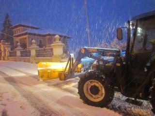 Nieve en el Occidente 4