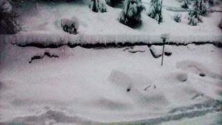 Nieve en el Occidente 1