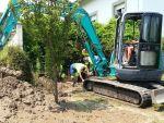 Nueva rotura en la red de abastecimiento de agua de Luarca 4