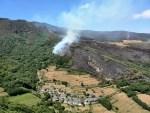 El Principado declara el paso a fase de emergencia del INFOPA por un incendio en Ibias 1