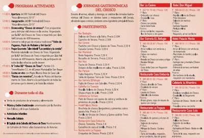 XIV Festival del Chosco y Mercado Medieval en Tineo 4