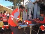 Cruz Roja ensaya en Tineo la respuesta ante situaciones de emergencia 1
