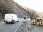 Reabiertos al tráfico los dos carriles entre Puente del Infierno y Pola de Allande 1