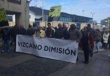 Manifestacion contra la planta de mejillones