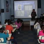 Charla escolar 'Historias de Veiga' en el colegio Pedro Penzol de Navia
